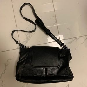 French Connection Black Crossbody Purse